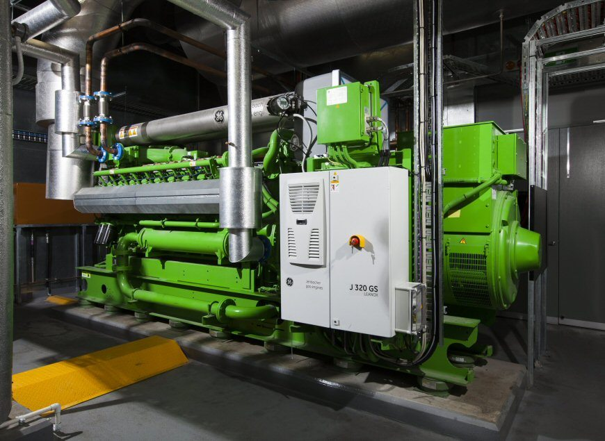 GE-Jenbacher-type-3-gas-engine-installed-by-AE-Smith-at-King-George-Central-870x635px